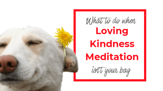 What do you when Loving Kindness Meditation isn't your bag